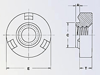 Self-Locating Projection Weld Nuts 2